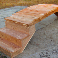 Spa and Mobile Home Steps